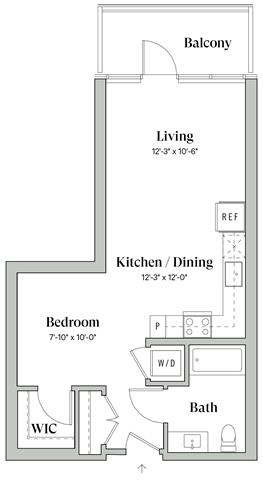 Diega A1 Floorplan