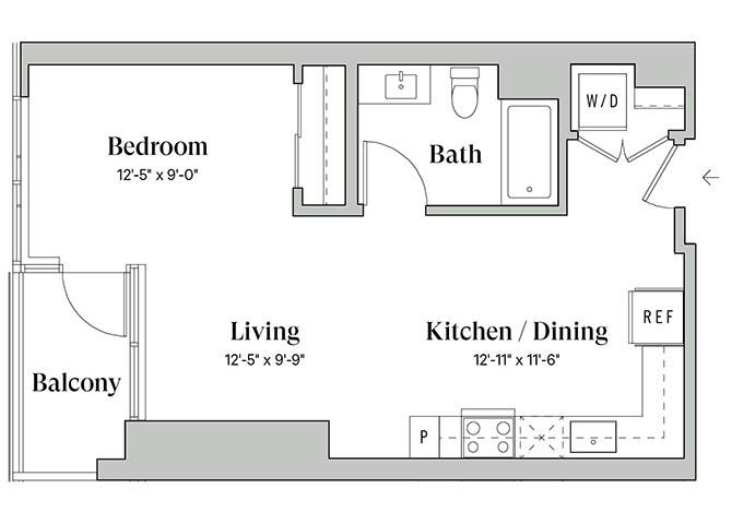 Diega A4 Floorplan