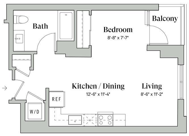 Diega A5 Floorplan