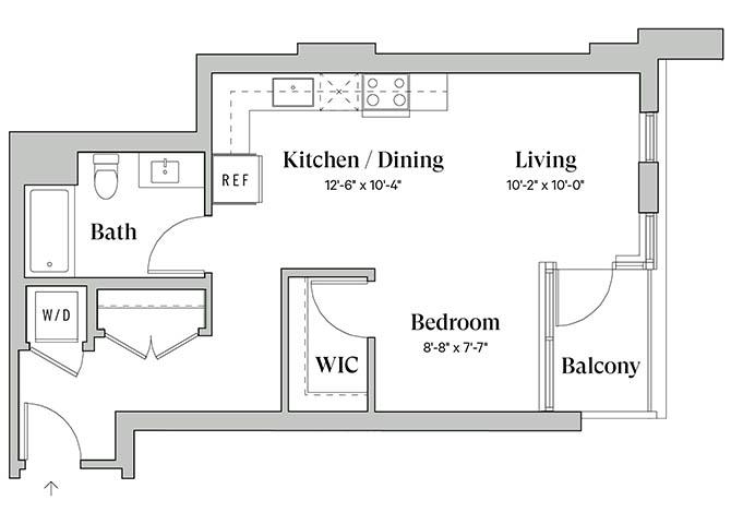 Diega A6 Floorplan