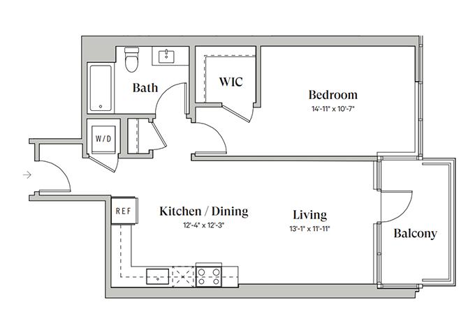 Diega B1A Floorplan