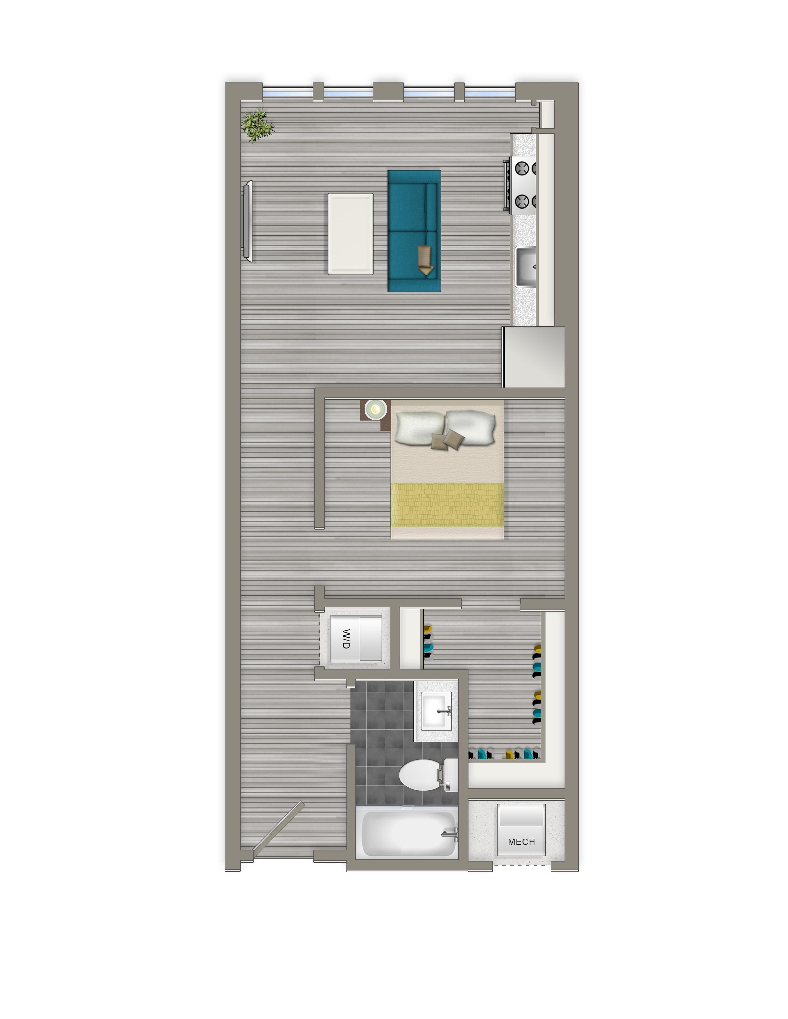 1-B - Crest Apartments