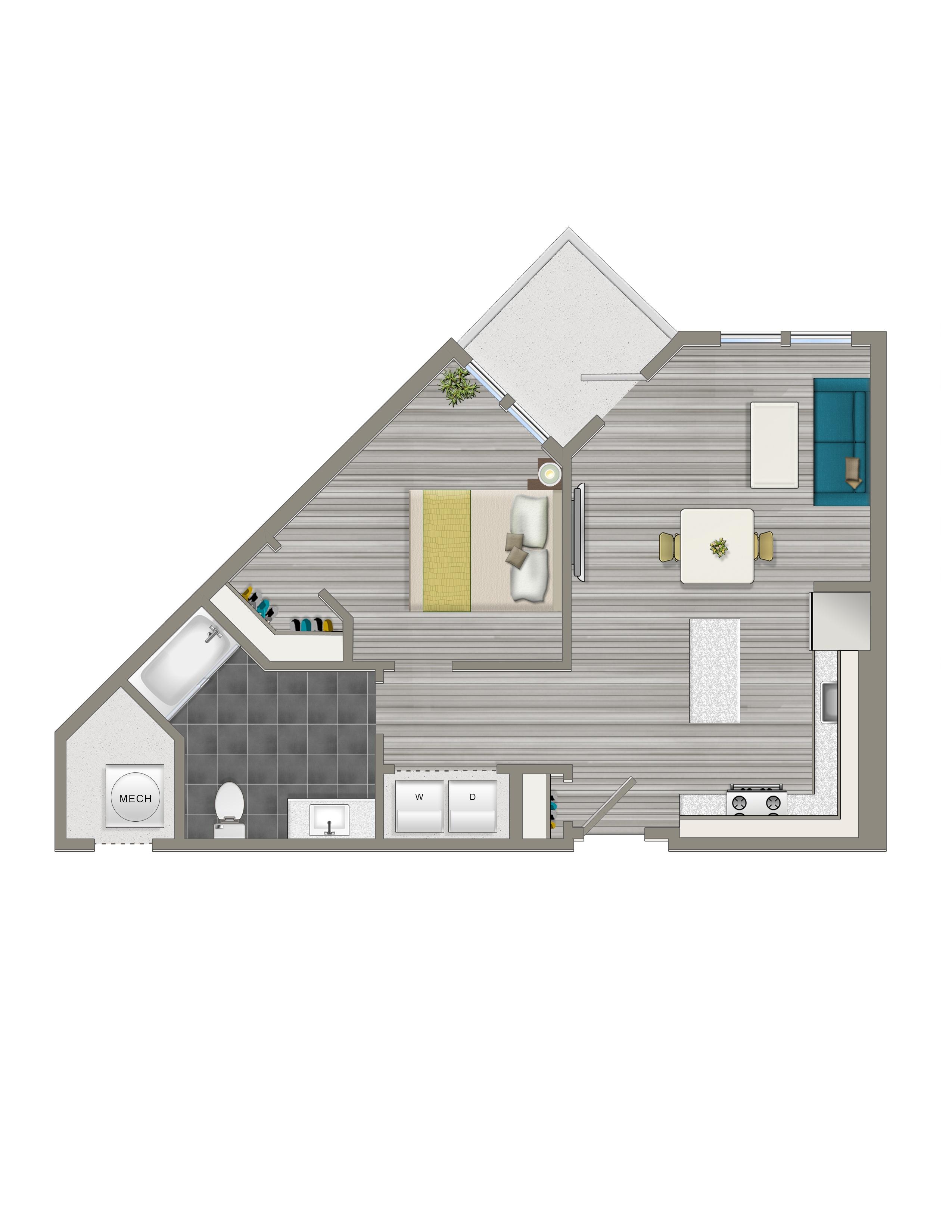 1-E - Crest Apartments