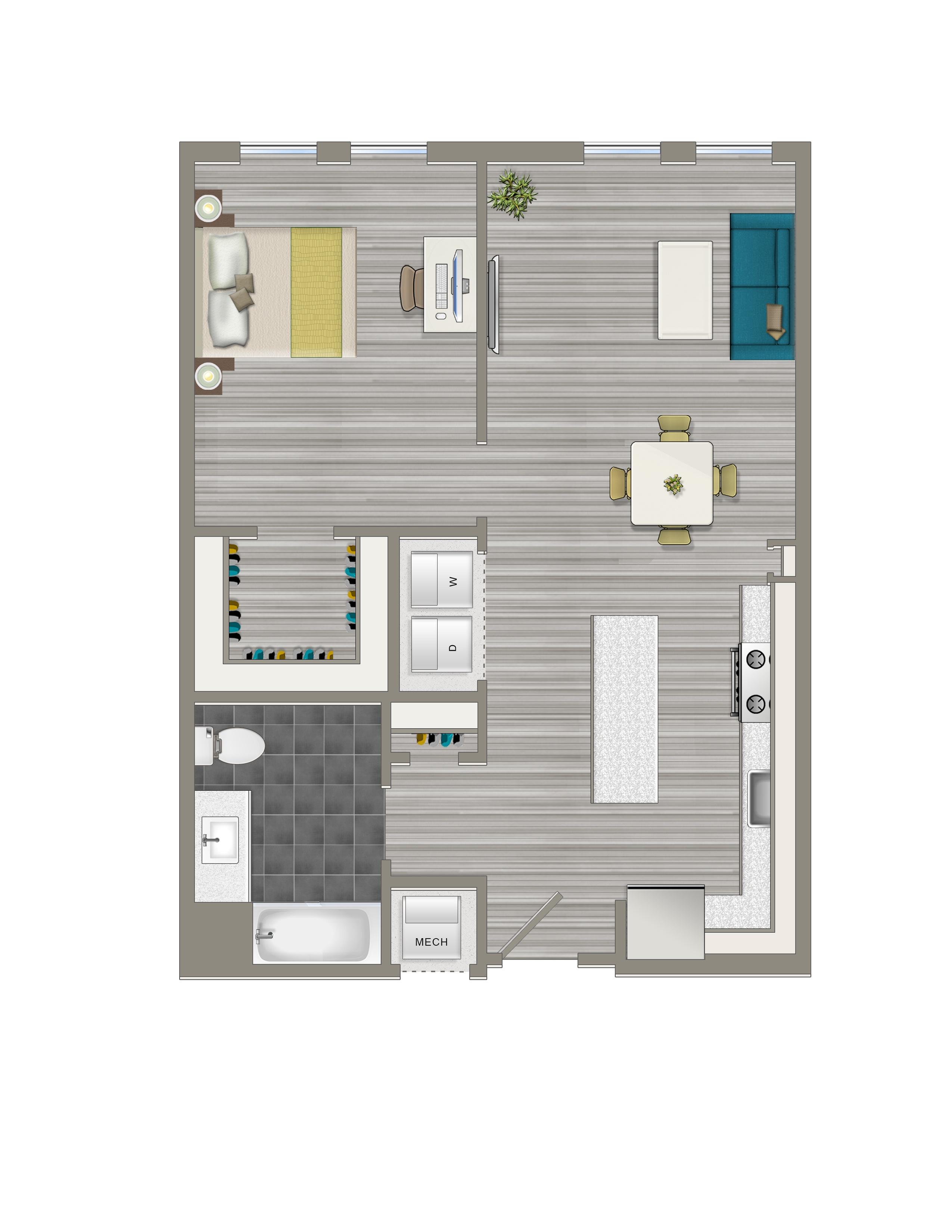 1-J - Crest Apartments