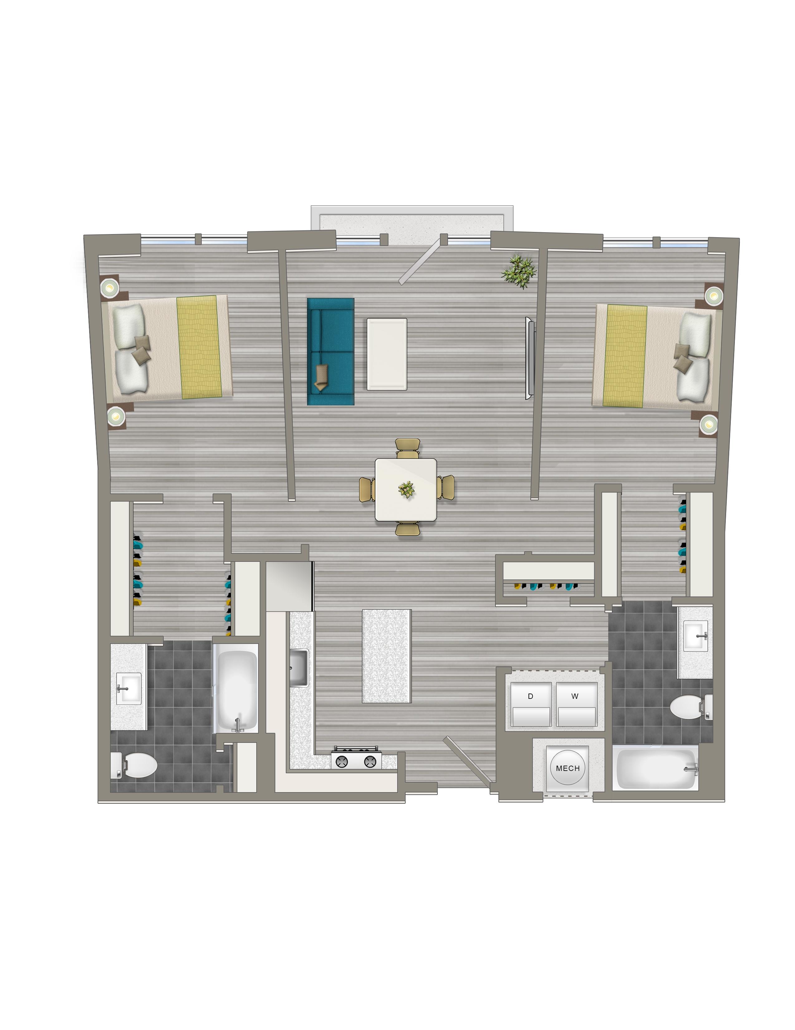 2-C - Crest Apartments