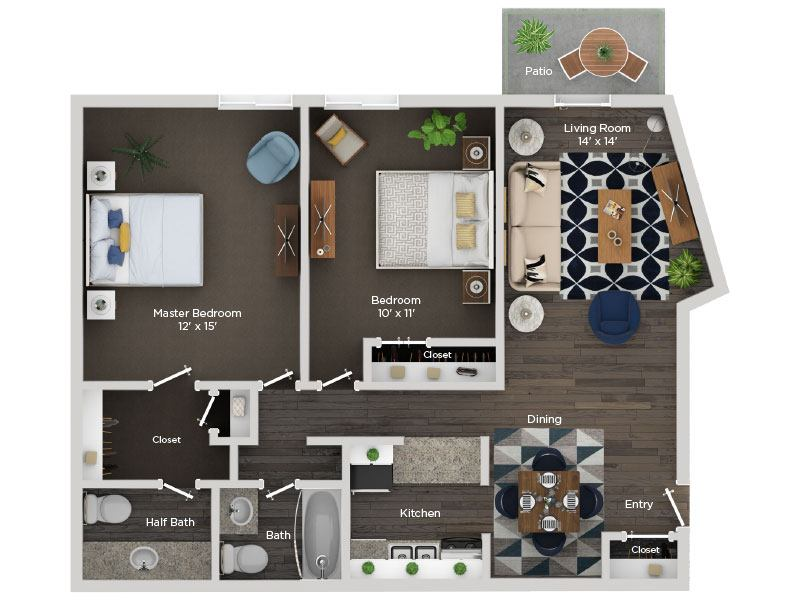 Apartments For Rent In Nashville Tn Mosaic Apartments