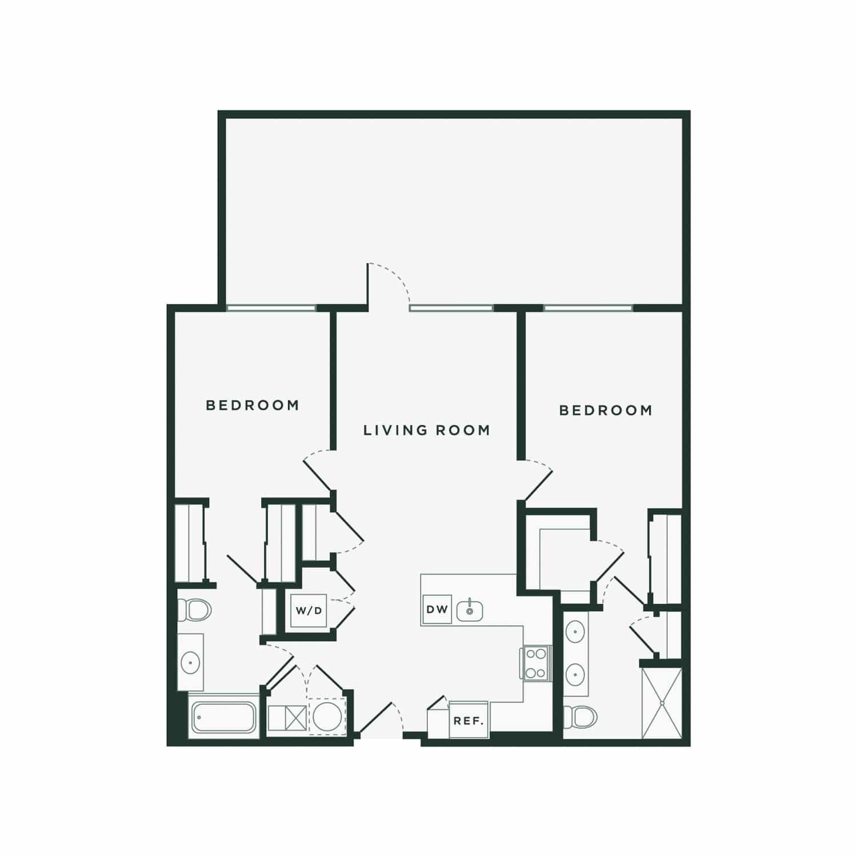 B1b Floor Plan Image