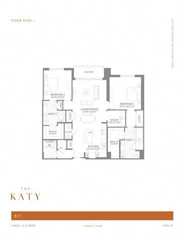 B11 – ID:3383535 Floorplan Image