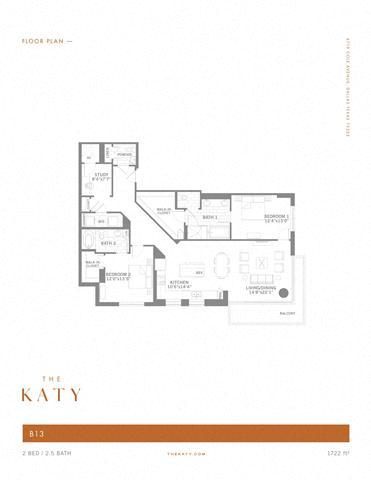 B13 – ID:3383537 Floorplan Image