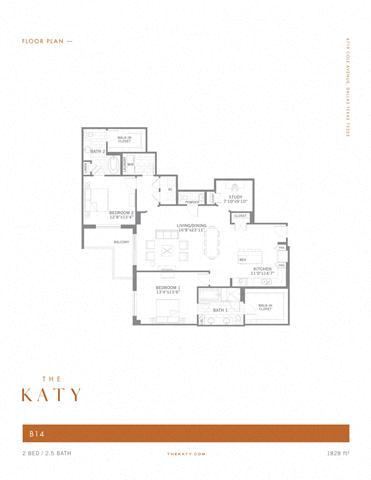B14 – ID:3383538 Floorplan Image