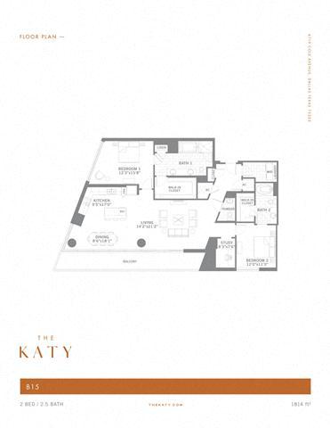 B15 – ID:3383539 Floorplan Image