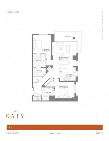 B5 – ID:3383529 Floorplan Image