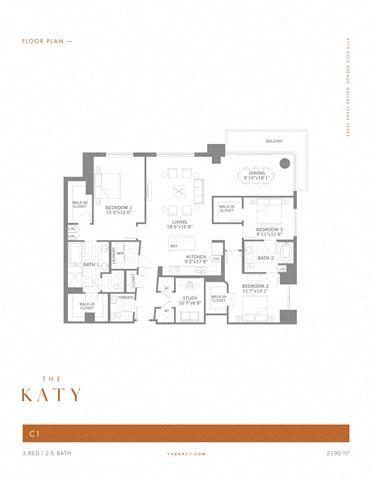 C1 – ID:3383540 Floorplan Image