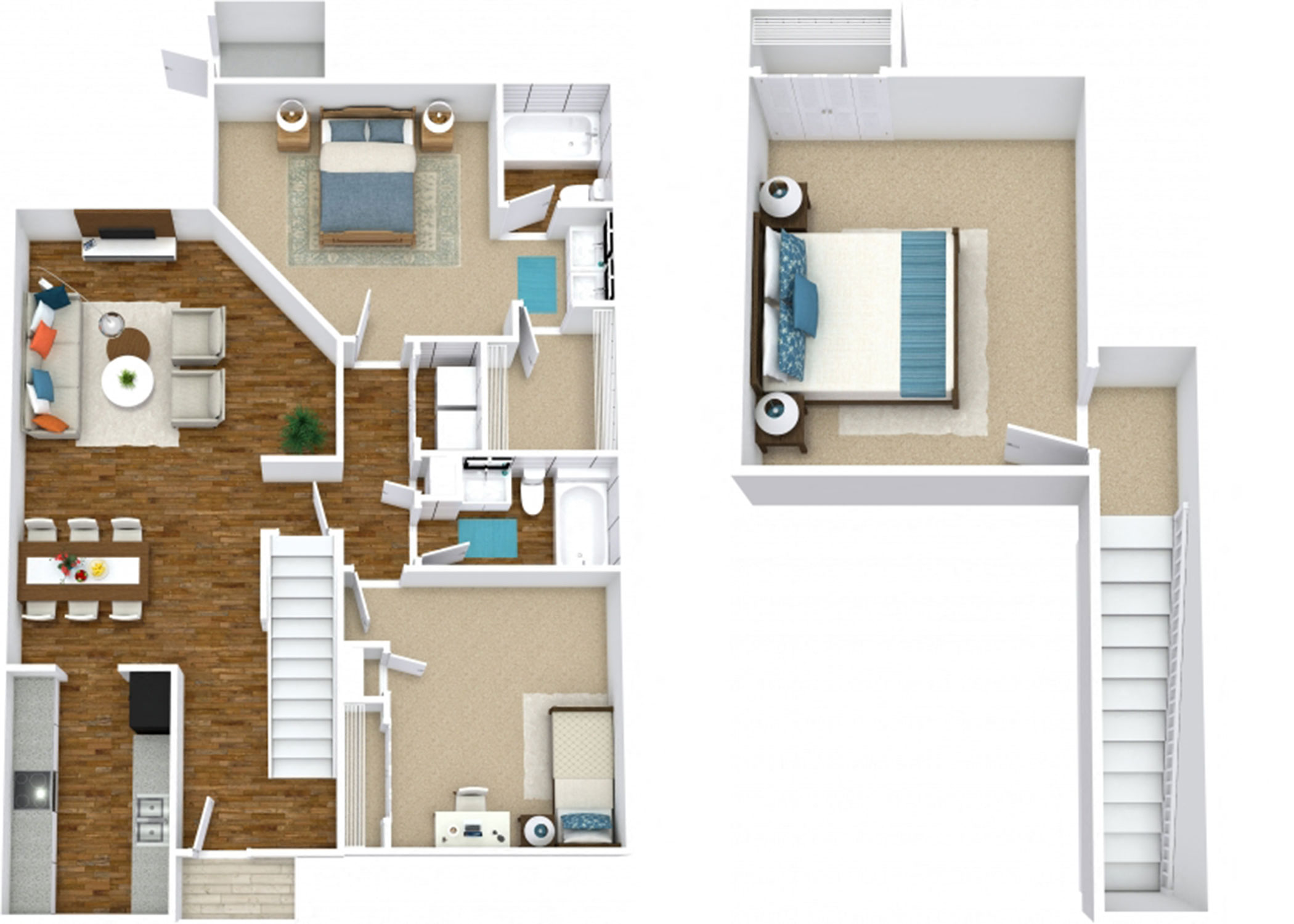 The Magnolia Townhome
