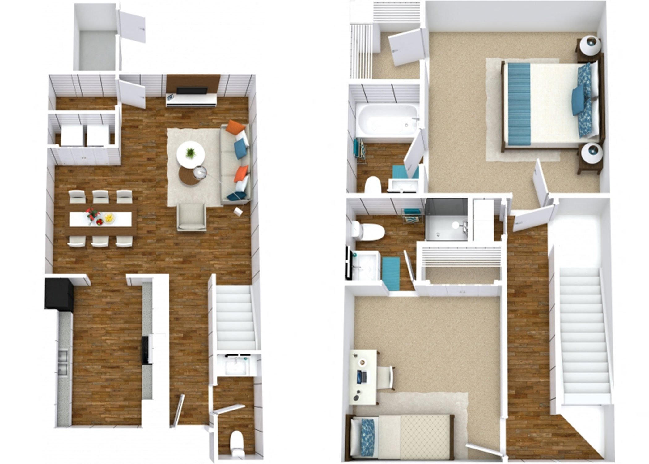 The Pine Townhome