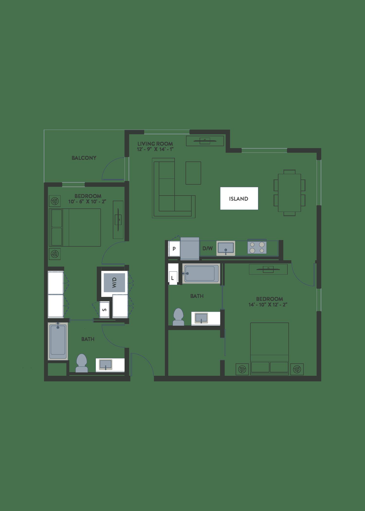 B02.1 Floor Plan