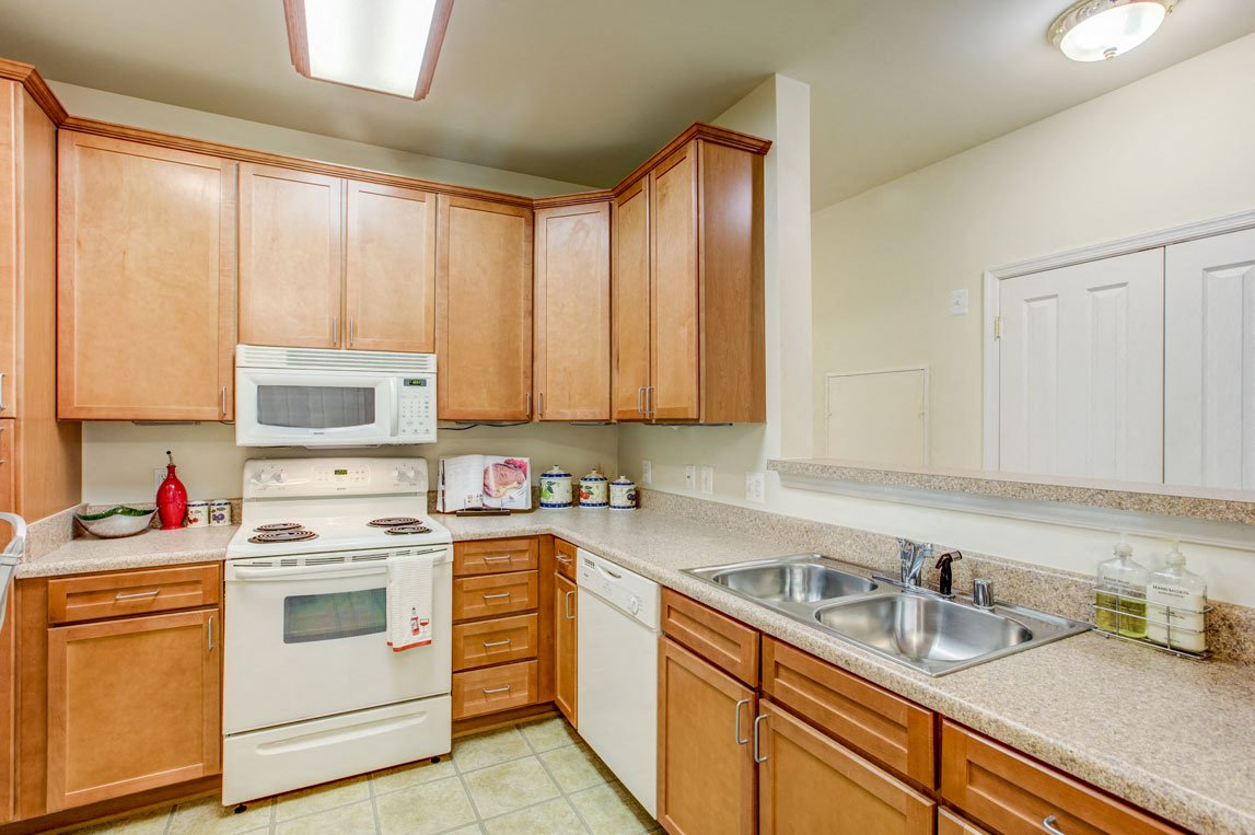 Modern Kitchen With Custom Cabinet