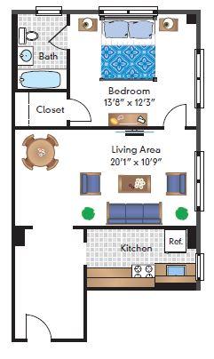 1 Bedroom 07 Tier