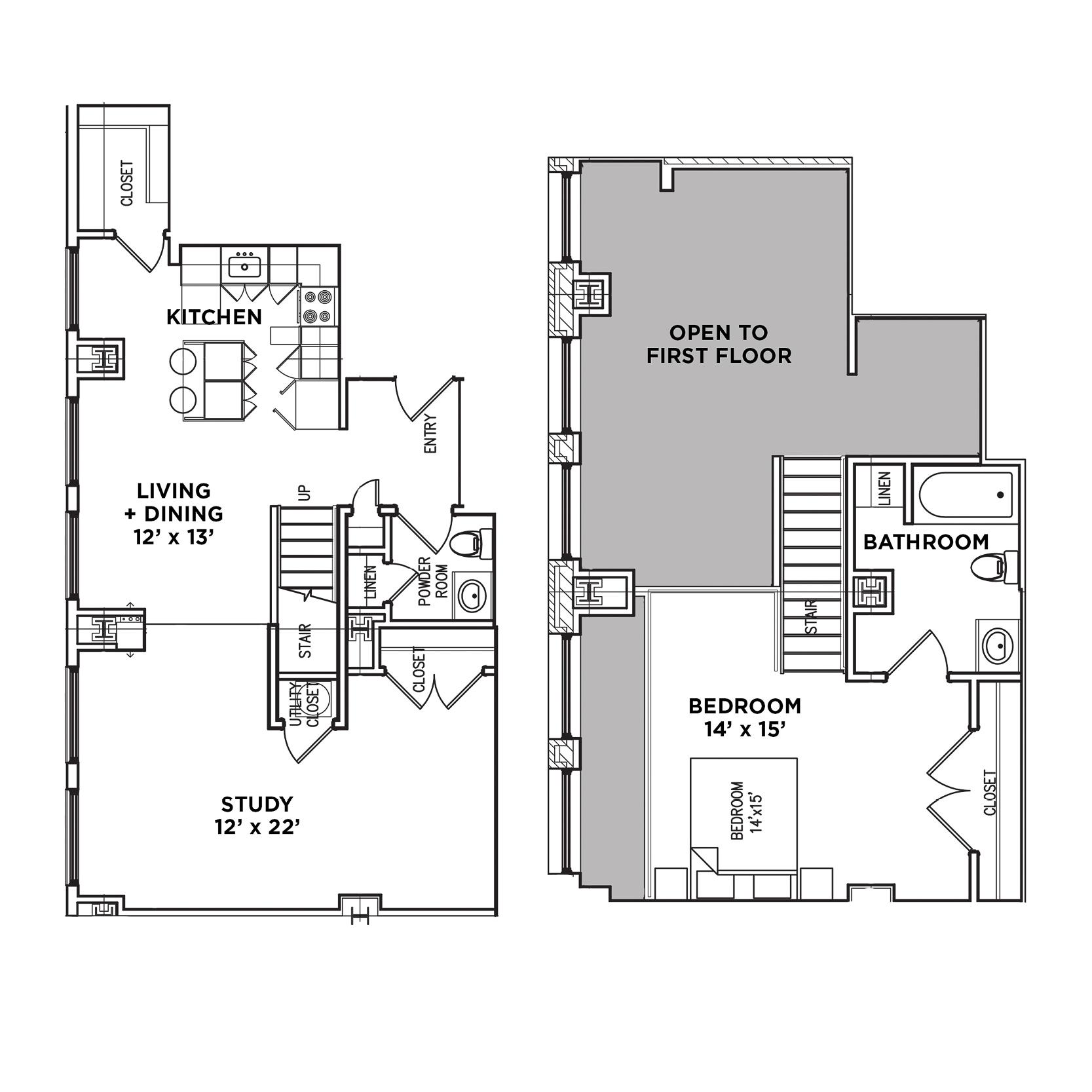 Suite F Loft (Highland Building)