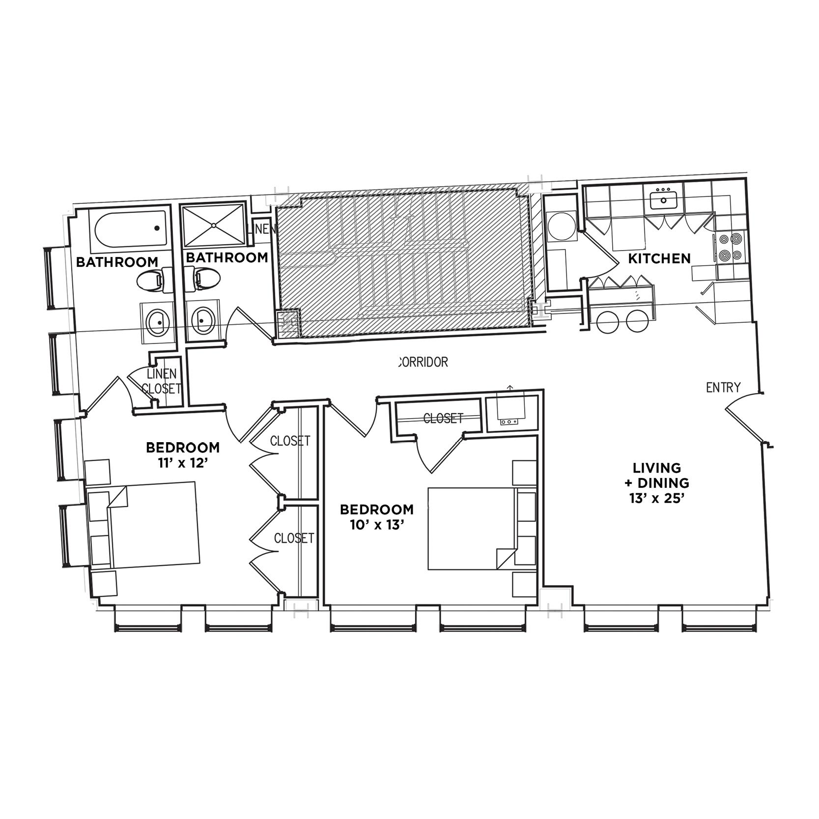 Suite H1 (Highland Building)