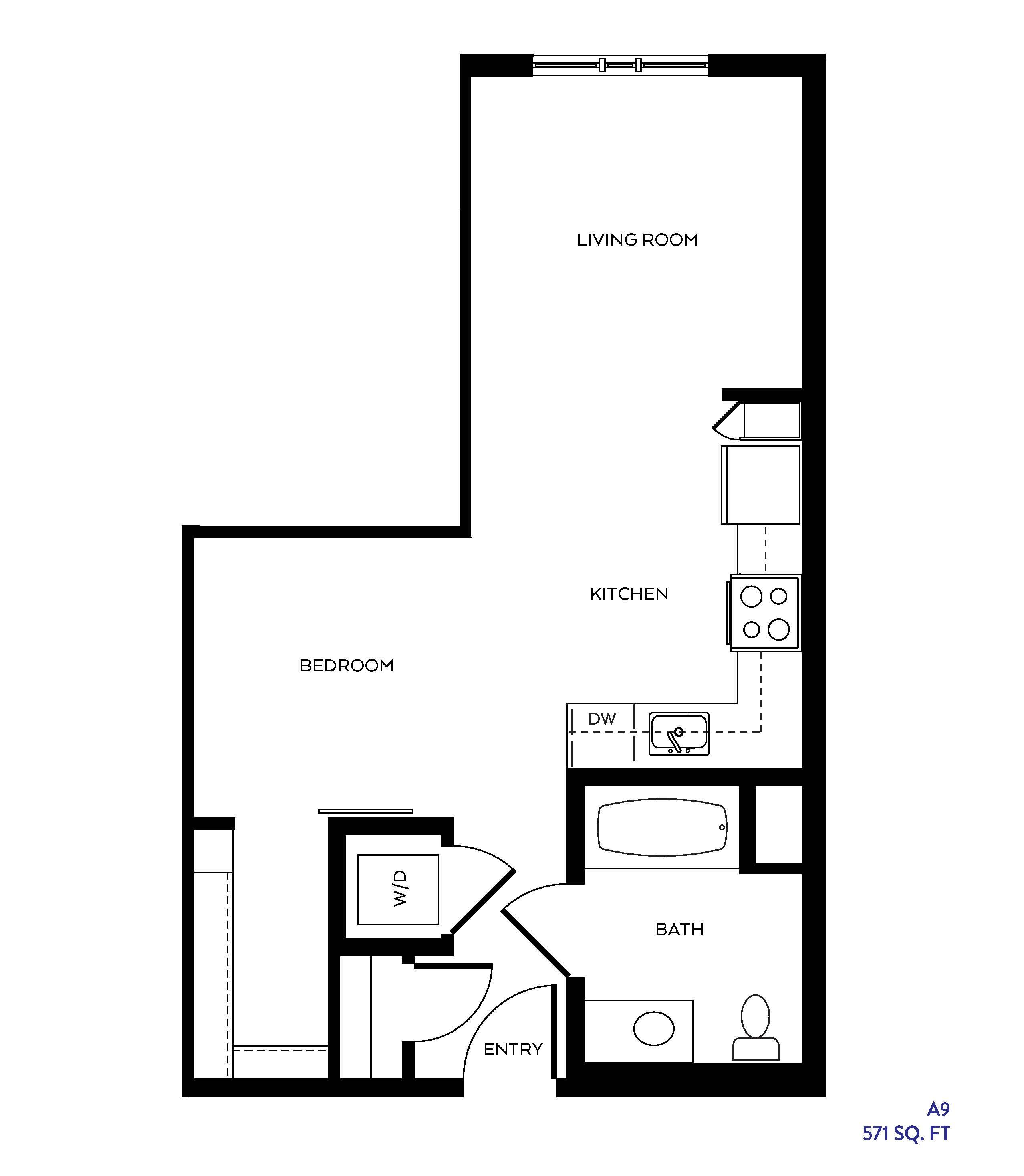 The S3 floor plan