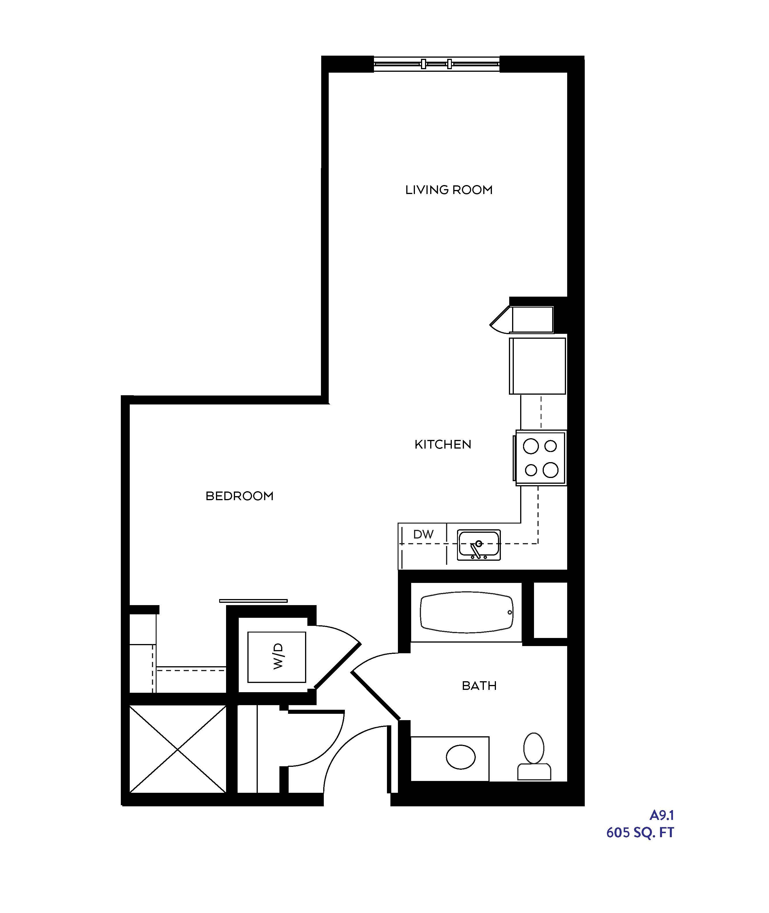 The S4 floor plan
