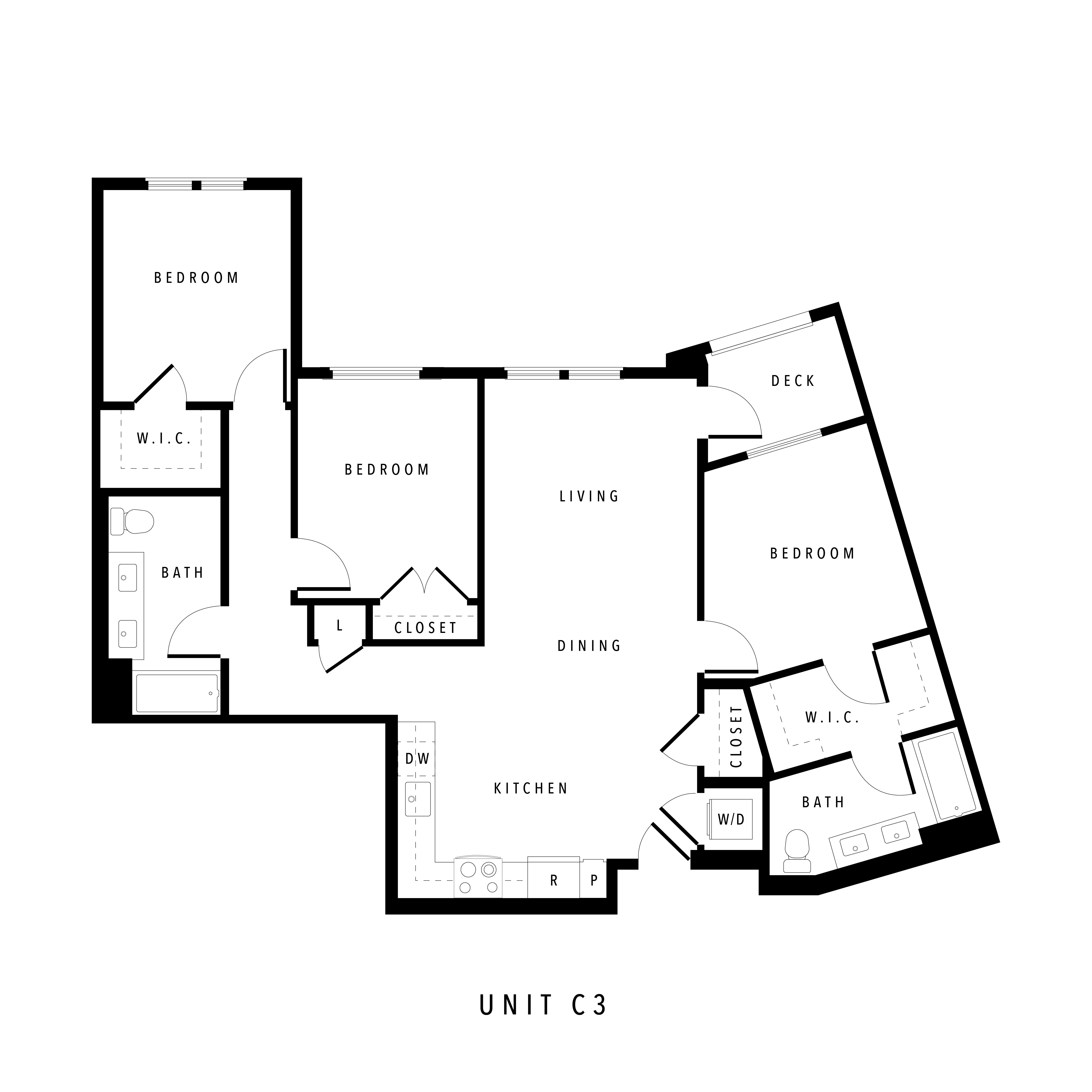Alta Civic Station Floorplan