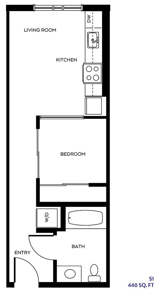 The S1 floor plan