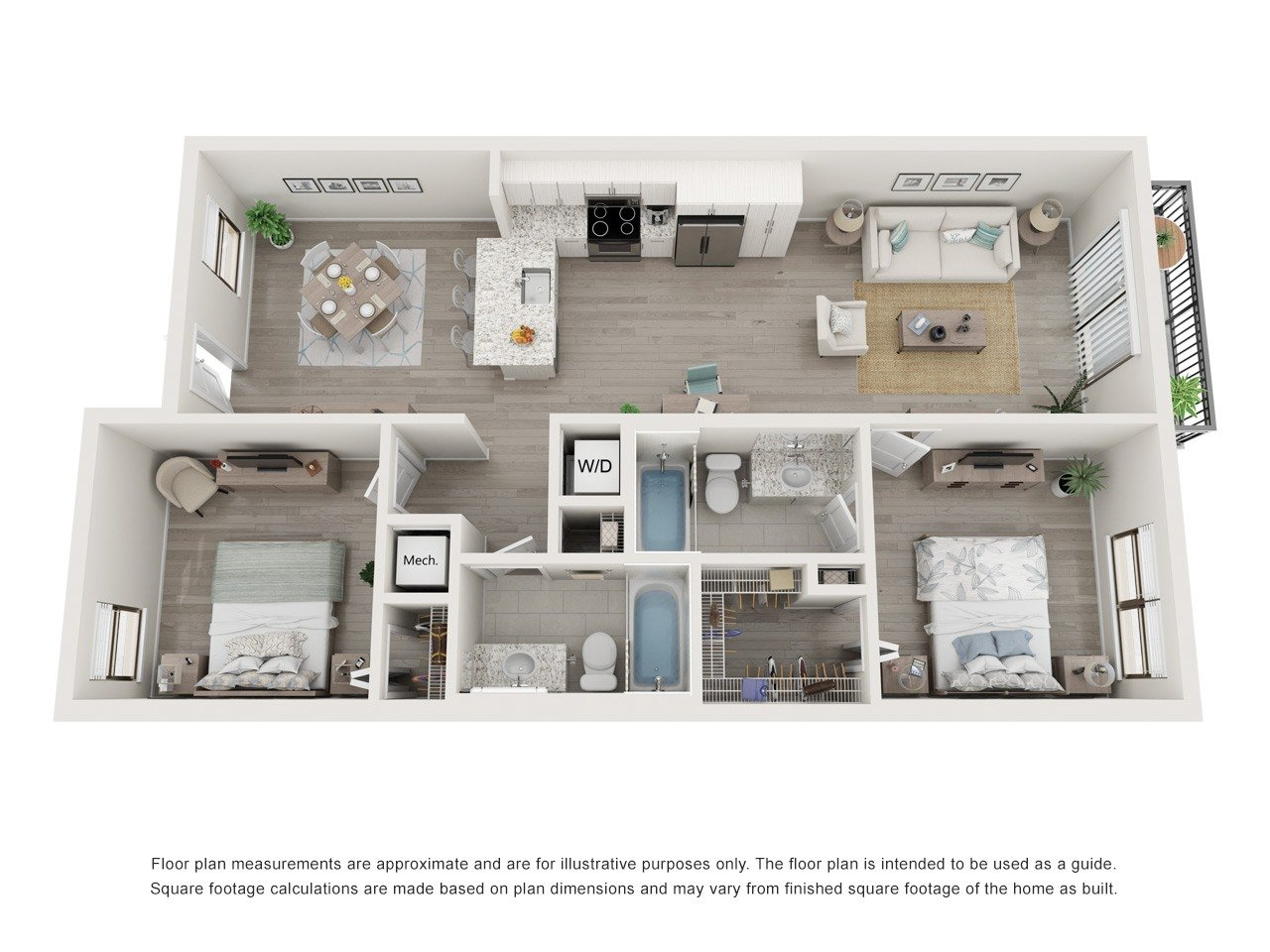 Floorplan Model B Image