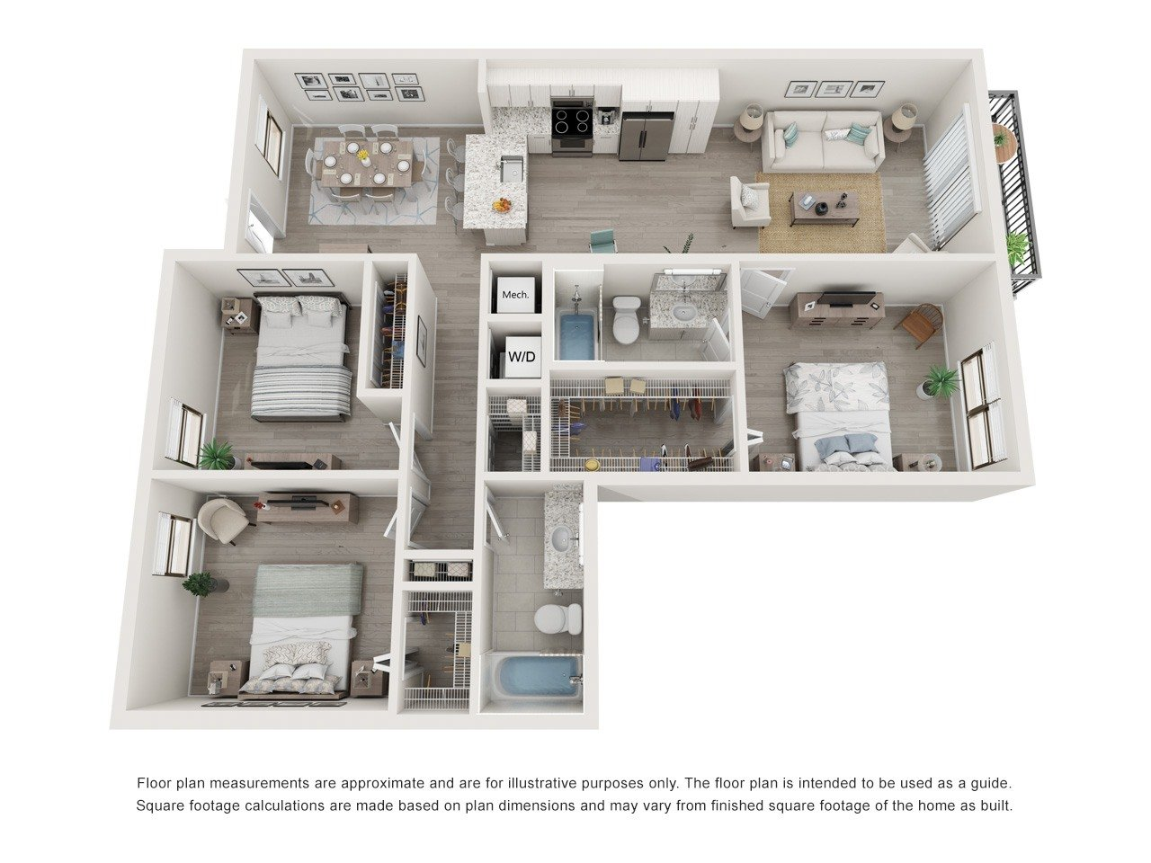 Floorplan Model D Image