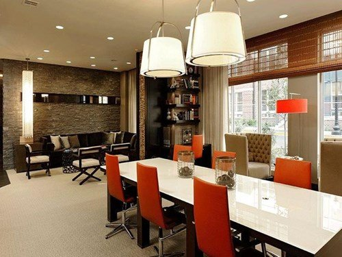 Work Stations and Meeting Spaces