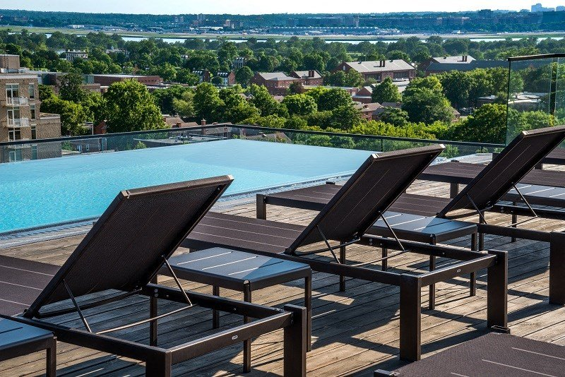 Pool and Sundeck with exceptional views