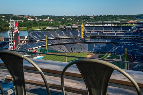 Views of Nationals Park