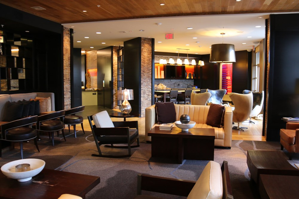 Resident Lounge With Plush Seating
