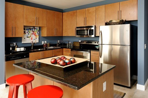 Open Kitchens With Stainless Steel Appliances and Ample Storage