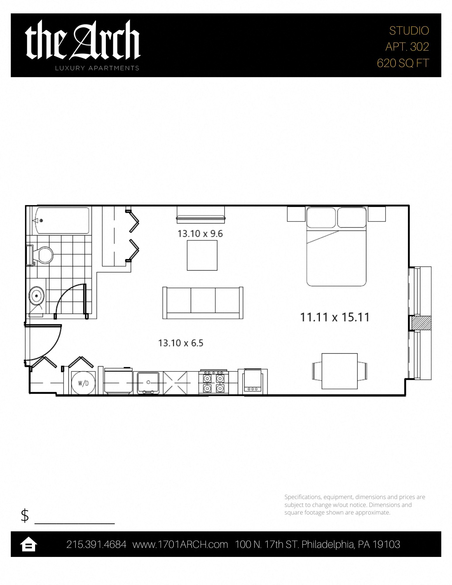 The Arch Floor Plans