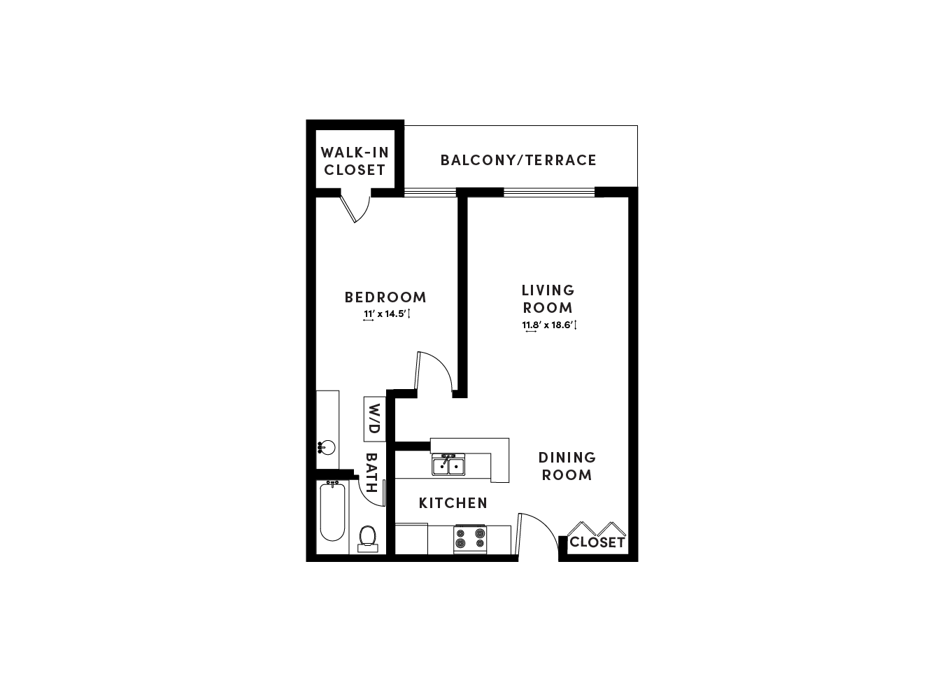 floor plan image of apartment_A319