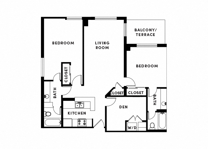 floor plan image of apartment_B216