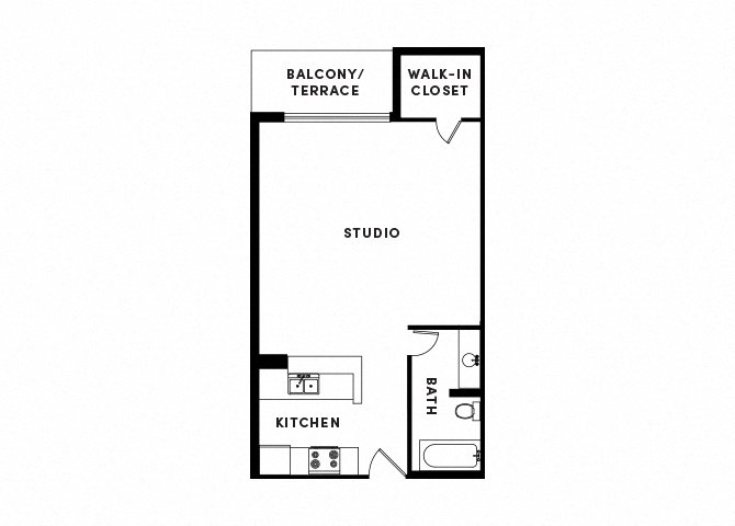 floor plan image of apartment_B414