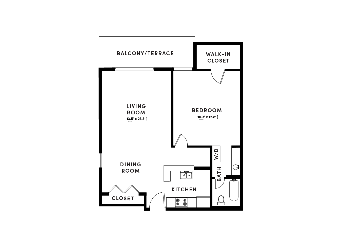 floor plan image of apartment_D323