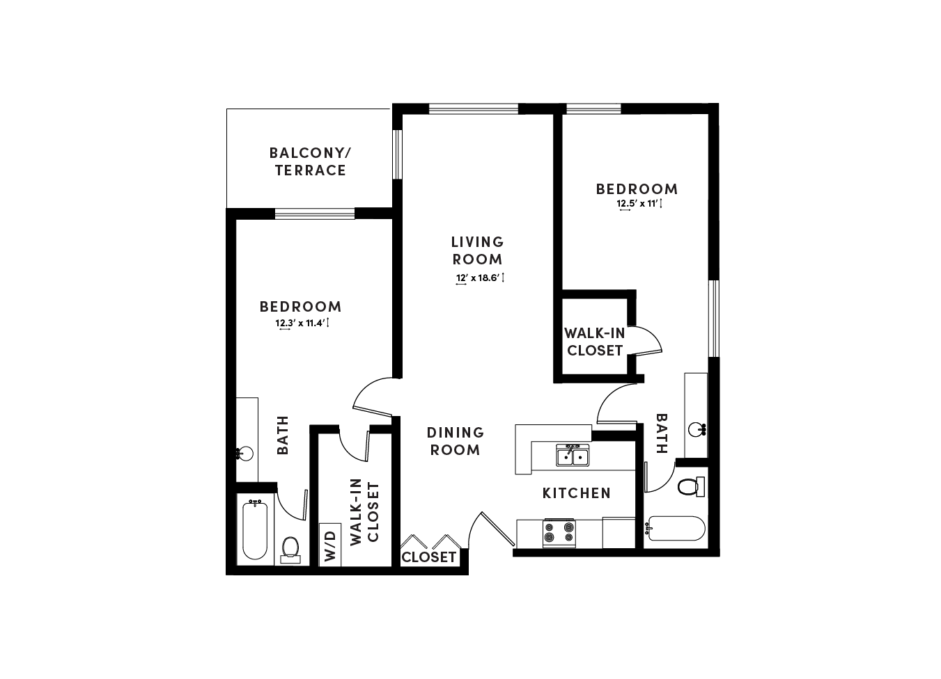 floor plan image of apartment_D102
