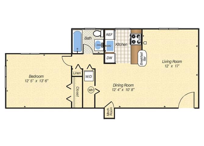 1 2 3 Bedroom Apartments in Alexandria VA Bren Mar Apartments