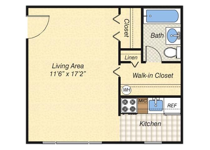 studio, 1 & 2 Bedroom Apartments in Woodbridge, VA | Woodlee ...