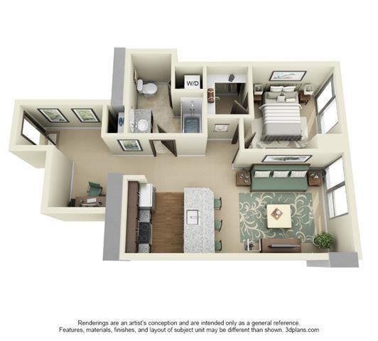 Downtown Portland Luxury Apartment Floor Plans At LADD Fascinating Two Bedroom Apartments Portland Oregon