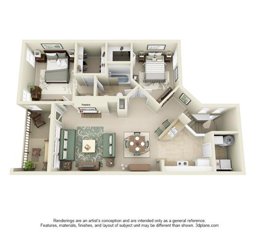 Three Bedroom Apartments Floor Plans well appointed one, two and three bedroom apartments in issaquah