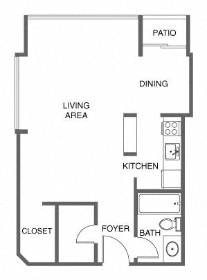 Studio Apartment San Francisco
