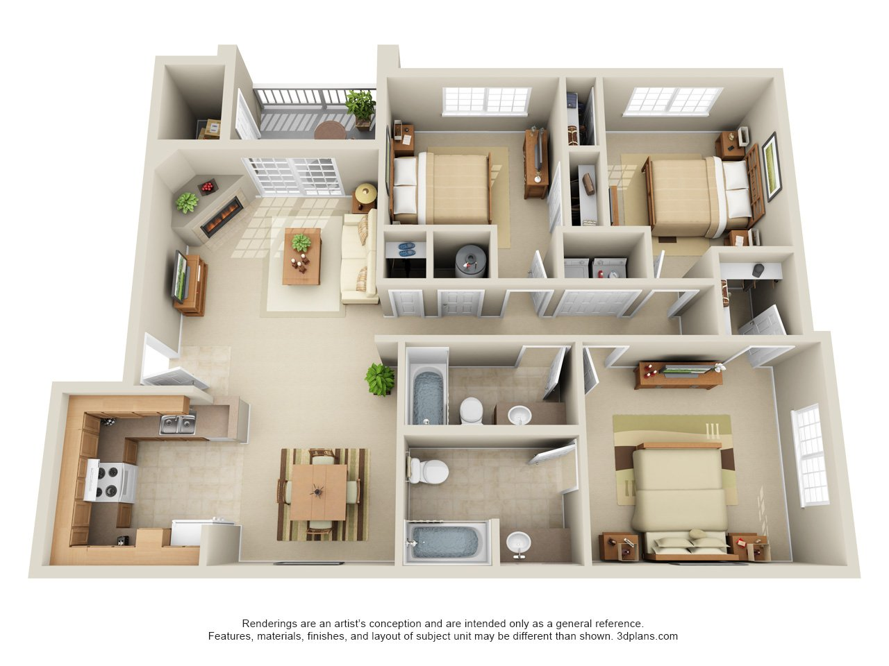 . Floor Plans   Lowry North luxury apartments Denver