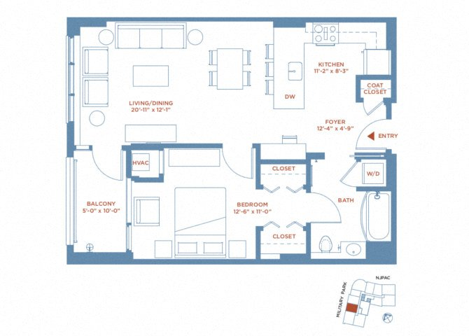apartment 0402 plan