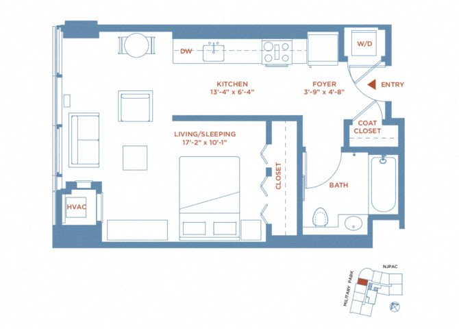 apartment 1804 plan