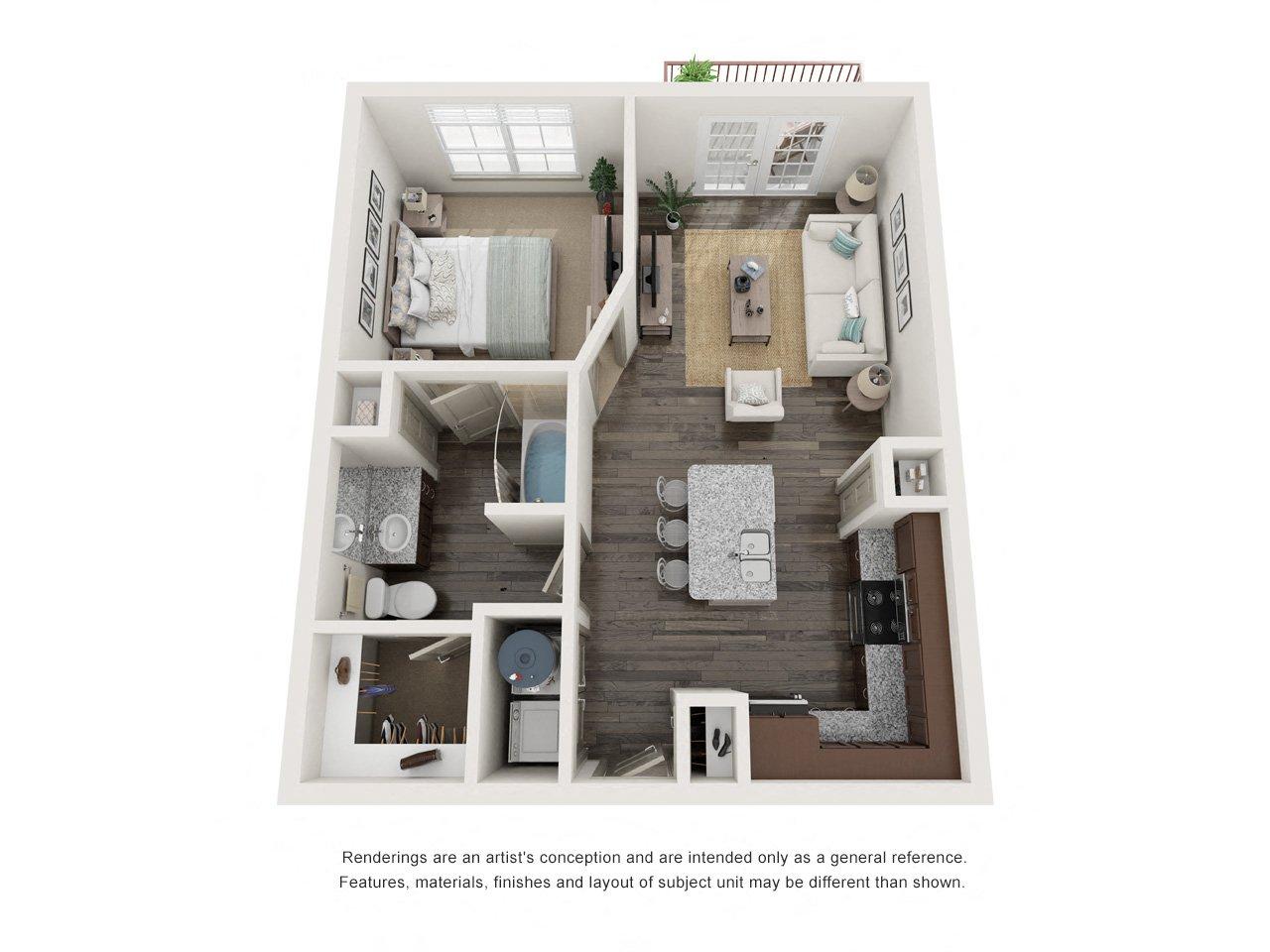 Floor Plans - Villaggio Apartment Homes